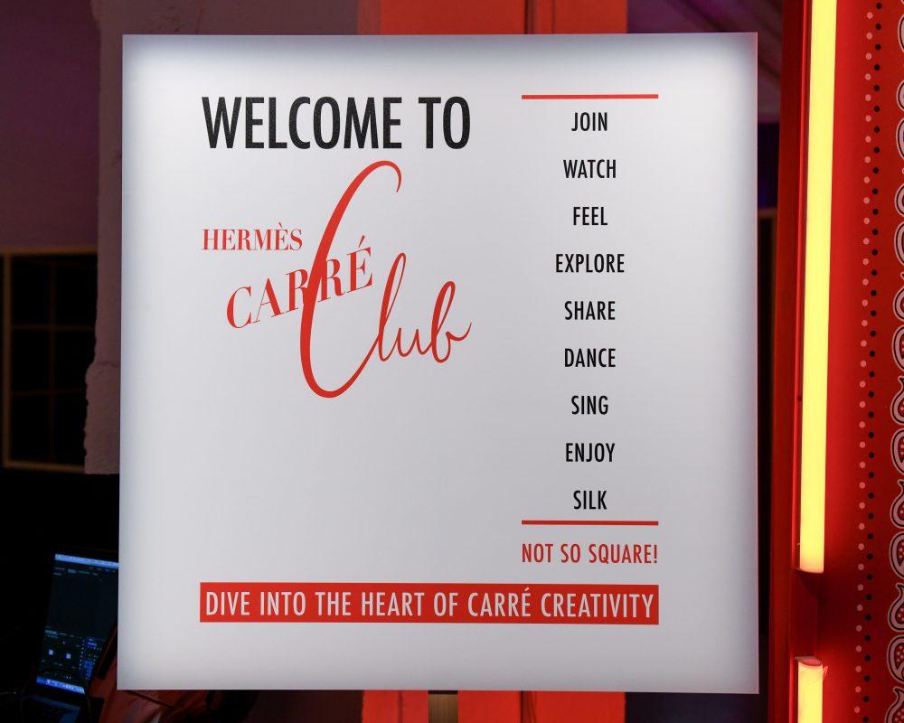 câu lạc bộ khăn của hermes