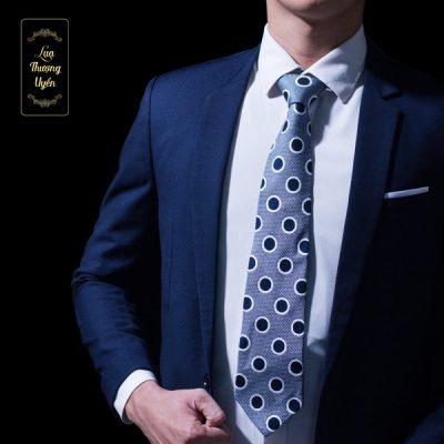 Cà Vạt Lụa Thượng Uyển bản to CT15