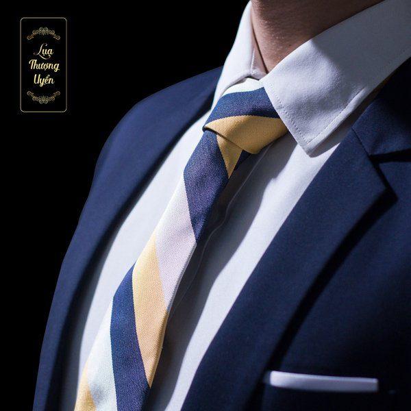 Cà Vạt Lụa Thượng Uyển bản to