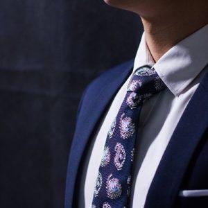 Cà Vạt Lụa Thượng Uyển bản to CT05
