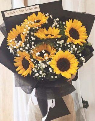Quà tặng Valentine cho nàng thích hoa hướng dương
