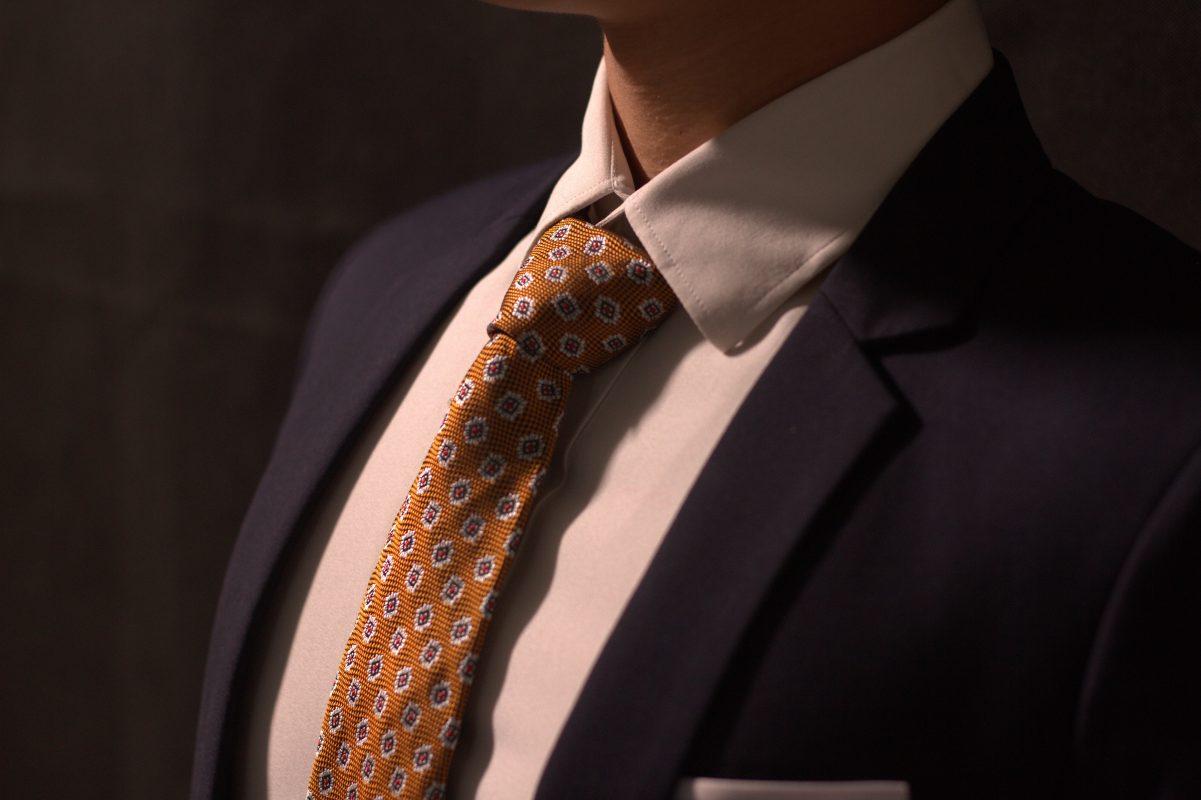 Cà vạt lụa Thượng Uyển