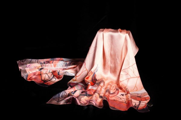 khăn lụa Thượng Uyển